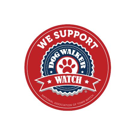 Dog Walker Watch Magnet.