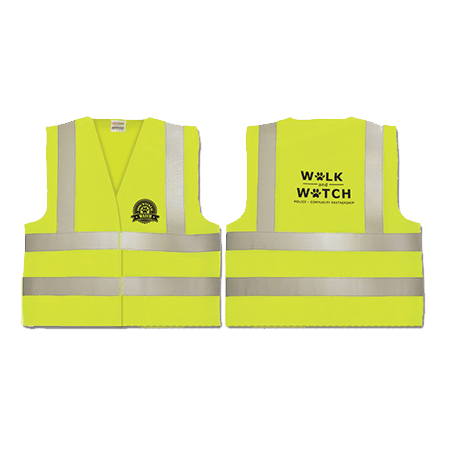 Dog Walker Watch Safety Vest.
